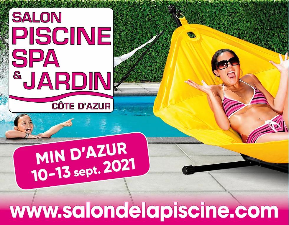 Retrouvez-nous au Salon de la Piscine Spa et Jardin de Nice
